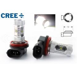 2 x Birnen 6 CREE 30W - H9 - Premium