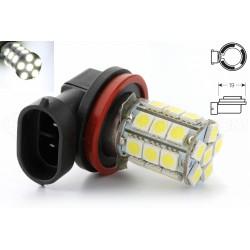 6 LED DE TYPE SAMSUNG 5W 2 AMPOULE H11 30W