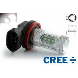 Ampoule 16 CREE 80W - H11 - Haut de Gamme