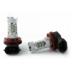 2 x P13W Bulbs  - 30W - 6CREE