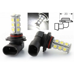 2 x bulbs hb3 9005 SMD LED 18 LED