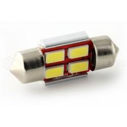 1 x LED 31mm - Blanc - R-LED C3W - 4 SS CANBUS