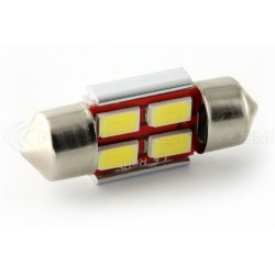 1 x LED 31mm - white - r-led c3w - 4 ss canbus