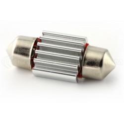 1 x LED 31mm - weiß - r-geführte C3W - 4 ss canbus