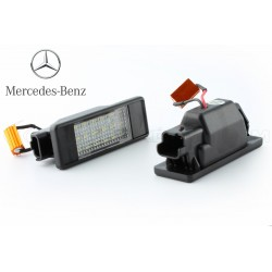 Rear license plate module Mercedes Benz Viano e Vito