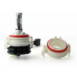 2 adapters LED bulbs door BMW E46 series 3