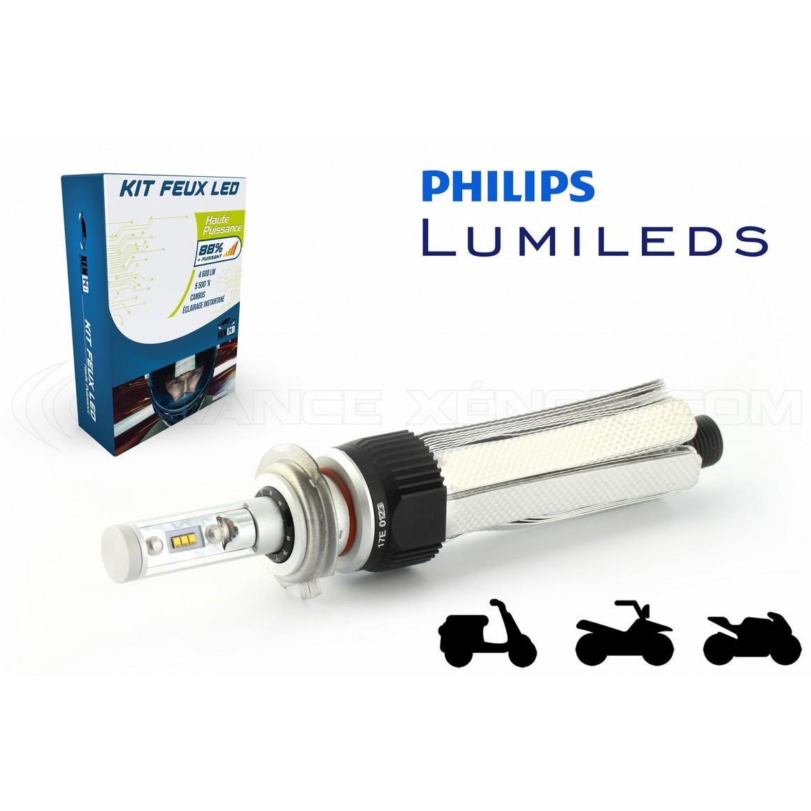 kit ampoules de phare led performance pour aprilia sr 50 r lc ditech. Black Bedroom Furniture Sets. Home Design Ideas