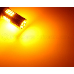 2x Ampoules XENLED 30 LED SAMSUNG - PY21W - CANBUS Jaune