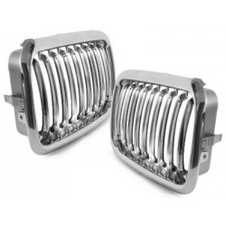 2x grids calender BMW E36 3 series 91-96_chrome