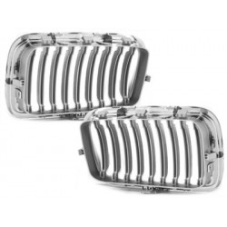 2x Grilles de calandre BMW E36 3 series 91-96_chrome