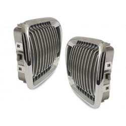 2x grids calender BMW E36 3 series 96-98_chrome