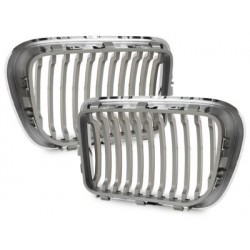2x Grilles de calandre BMW E36 3 series 96-98_chrome