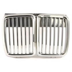 griglie 2x calandra BMW E30 3 serie 83-91_chrome