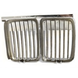 front grill BMW E30 3 series 83-91_chrome