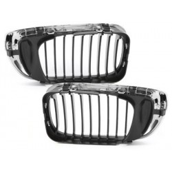 2x Grilles de calandre BMW E46 Lim./Touring 3 series 02-03_chrome