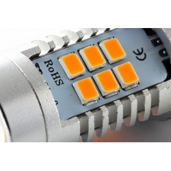 2x OSR 21 LED Birnen - PY21W - Gelb