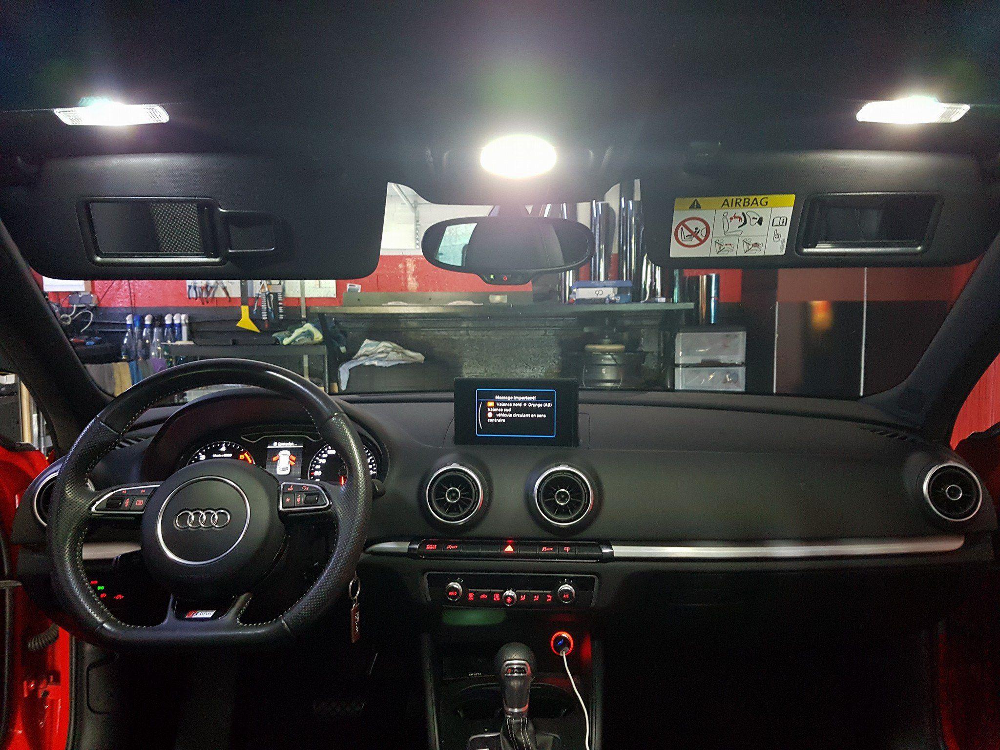 Pack Full Led Audi A3 8p Ph 2 Bianco