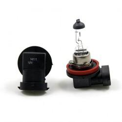 2 x 12v 100w Glühbirnen H11 Herkunft - Frankreich-Xenon