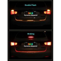 Dynamisches Band 192 LED Nachtlicht / Stopp & Blinken