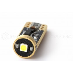2 x W5W T10 3-LED BULBS Super Canbus Super Power XENLED - GOLD