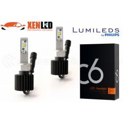 2 x Ampoules H1 ventilées C6 60W - 6000Lm - 6000K - 12 / 24 Vdc