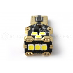 1 x lampadina LED 850lms W16W t15 super-canbus xenled - oro