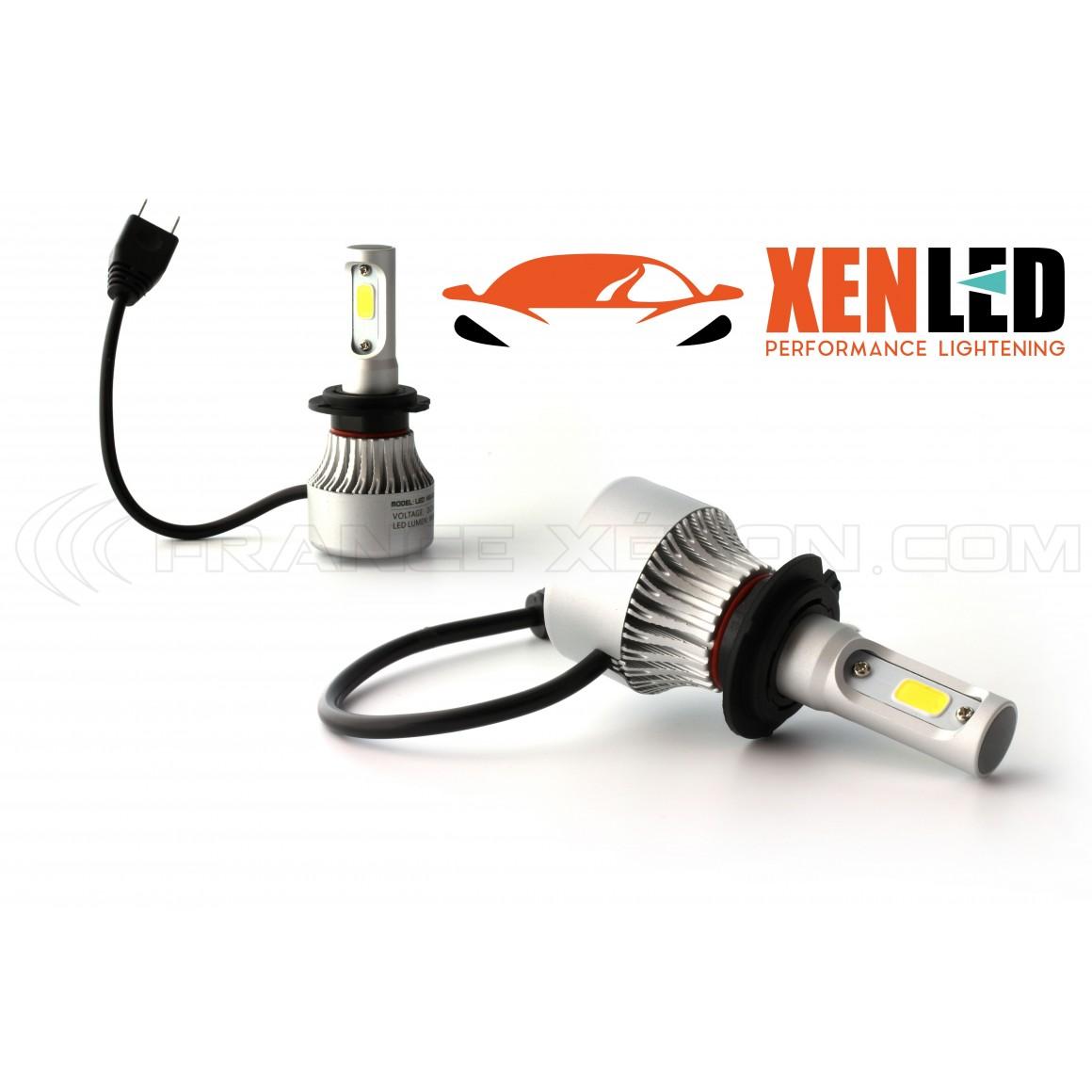 2 x lampadine h7 led headlight 75w 6500k france xenon for Lampadine h7 led