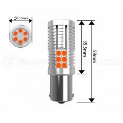 2x Bulbs 30 LED SAMSUNG - PSY24W - Yellow