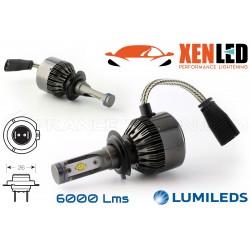 2 x Bulbs H7 V9 LED 55W - 6000Lm