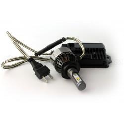 2 x Birnen H7 V9 LED 55W - 6000Lm