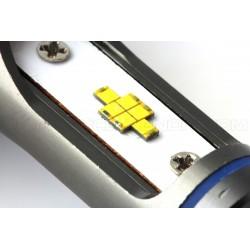 2 x Ampoules H11 V9 LED 55W - 6000Lm - Haut de Gamme