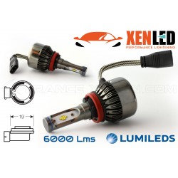 2 x Bombillas H11 V9 LED 55W - 6000Lm