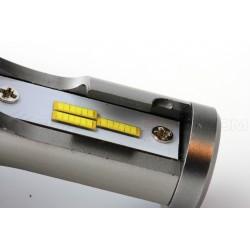 2 x Birnen H4 V9 LED 55W - 6000Lm