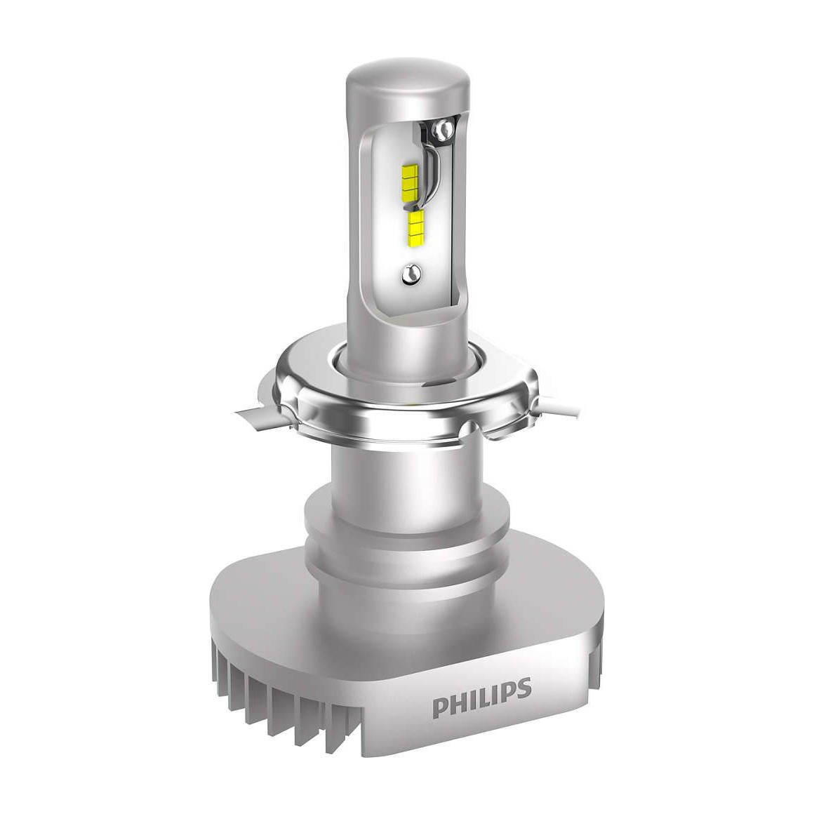 2x Ampoules LED H4 Philips Ultinon 2200Lm 6200K - France-Xenon