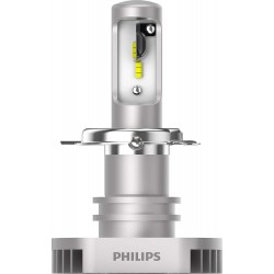 2x Ampoules LED H4 Philips Ultinon 2200Lm 6200K