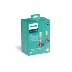 2x LED bulbs h7 philips ultinon 2200lm 6200k