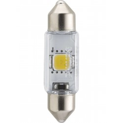 1x Festoon Philips 10.5x38 LED X-Treme Ultinon 4000K 12V C5W
