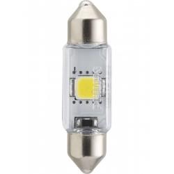 1x Philips shuttle 10.5x38 LED x-treme ultinon 6000k 12v C5W