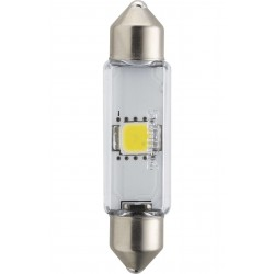 1x Festoon Philips 10.5x43 LED X-Treme Ultinon 4000K 12V C10W