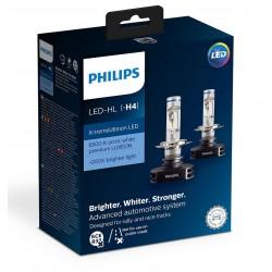 2x Bulbs H4 LED PHILIPS X-Treme Ultinon