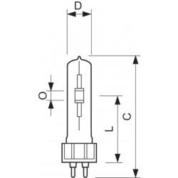 1x MASTERC CDM-T ELITE 150W/930 G12 1CT/12