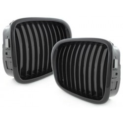 2x grids calender BMW e39 5 series 96-03 _ black brilliant