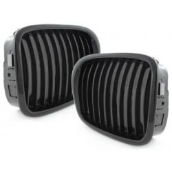 2x griglie della calandra BMW E39 5 serie 96-03 _ nero brillante