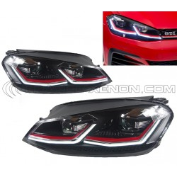 2x Faros GOLF 7 Facelift MK2 GTI Full LED para la Fase 1