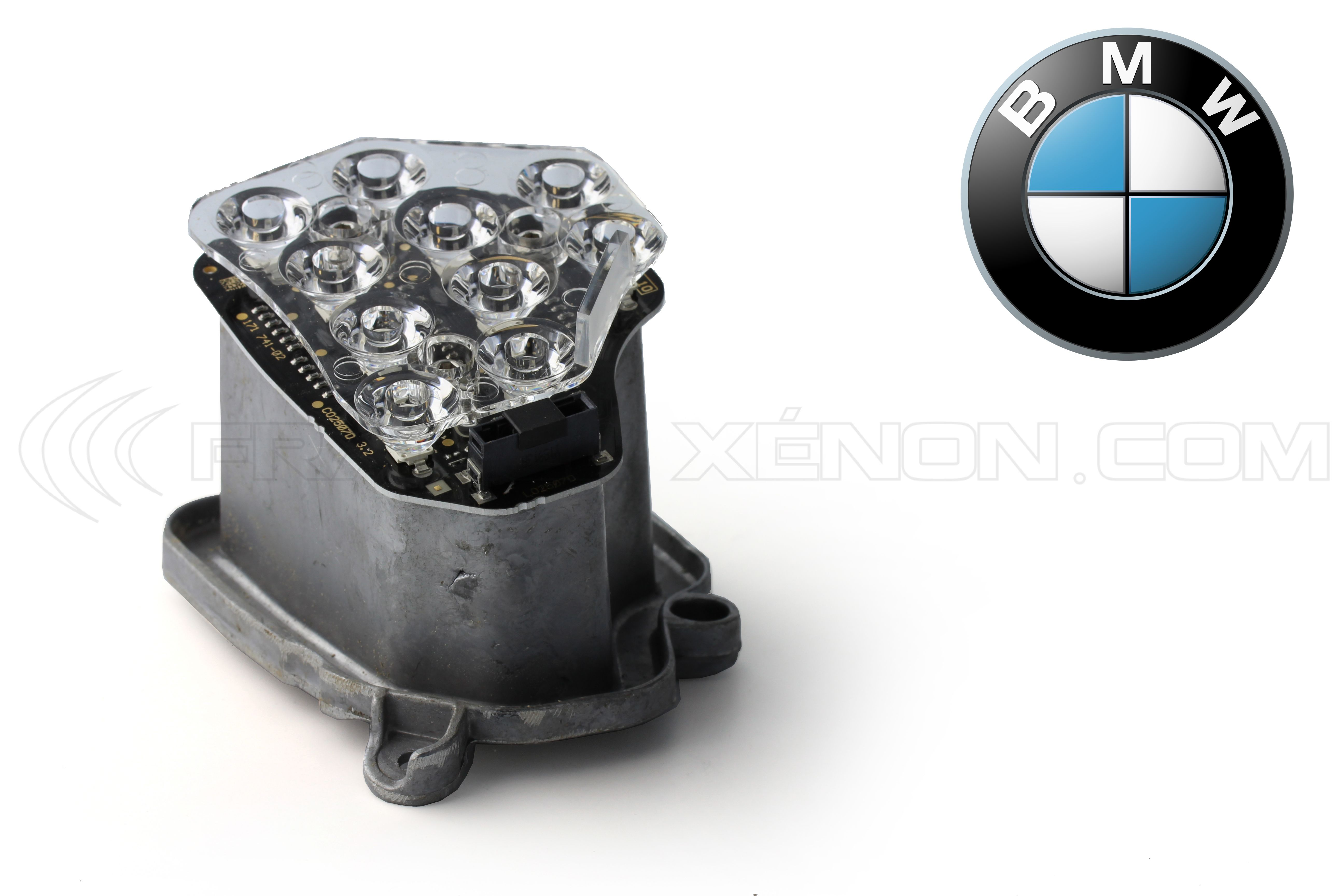 Bmw F07 Xenon Headlight Indicator Left Side 63127262833 Insert Turn Audio By 741 Signal France