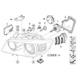 Modulo indicatore LED Lato sinistra 63127245813 BMW E90 + E91