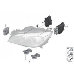 Unità di controllo del modulo allo xeno 63117355074 BMW Série 7 F01 F02 F03 13-15