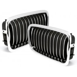 2x grids calender BMW e38 7 series 94-98_chrome