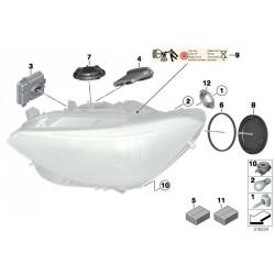Modulo LEAR TMS 63117316145 63117304063 63117305238 BMW F20 F21 Centralina Di Controllo Per Faro Headlight Xenon Led Serie 1