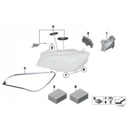 Modulo indicatore LED Lato destro 63117225232 BMW Série 7 F01 F02
